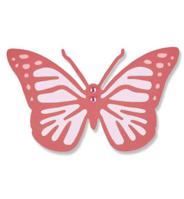 Sizzix Thinlits Die *Intricate Vintage Butterfly*