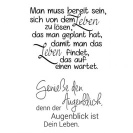 Clearstamp Set *Augenblick*