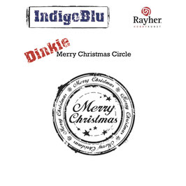 Stempel *Merry Christmas Circle Dinkie*