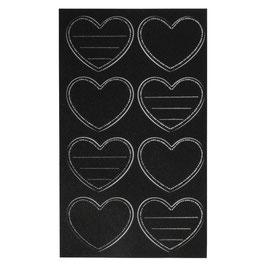 Tafelfolien-Sticker mit zwei verschiedenen Motiven - selbstklebend!