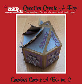 Crealies Create A Box Stanzschablonen-Set No. 2