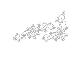 Stanzschablonen-Set *Schneeflocken dekorativ*