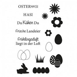 Clearstamp Set *Osterhasi*