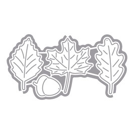 Stanzschablonen-Set *Blätter*