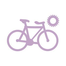 Dovecraft Stanzschablone/Die *Bicycle*!