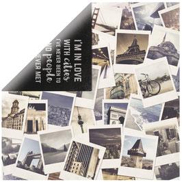 KaiserCraft Scrapbookingpapier Serie *Just Landed* Polaroids