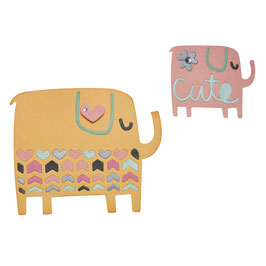 Sizzix Thinlits Set *Elephant Duo*