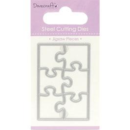 Dovecraft Stanzschablone/Die *Jigsaw Pieces / Puzzle*