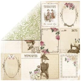 KaiserCraft Scrapbookingpapier Serie *Mademoiselle* Ladylike