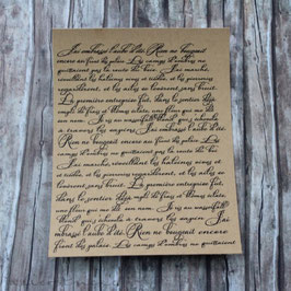 Hintergrundstempel *französische Schrift*