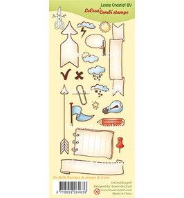 Clearstamp Set *Banners, arrows & icons*