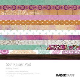 KaiserCraft Serie *Bombay Sunset* Scrapbooking-Block