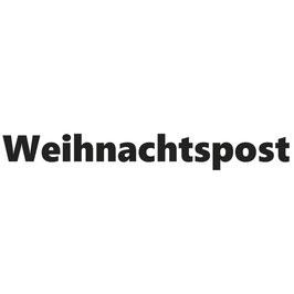 Holz-Stempel / Statement-Stempel *Weihnachtspost*