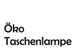 Stempelgummi *Öko-Taschenlampe*
