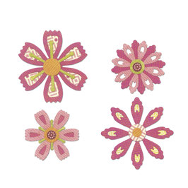 Sizzix / Thinlits Set *Flowers*