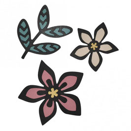 Sizzix / Thinlits Set *African Florals*