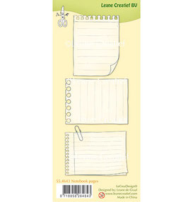 Clearstamp Set *Notebook pages*
