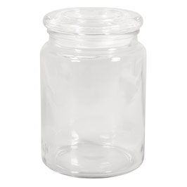 Vorratsglas mit Glasdeckel