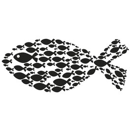 Holz-Stempel *Fisch*