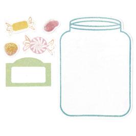 Sizzix Framelit-Stempel-Set *Jar*