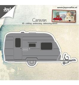 Stanzschablonen-Set *3D Caravan*