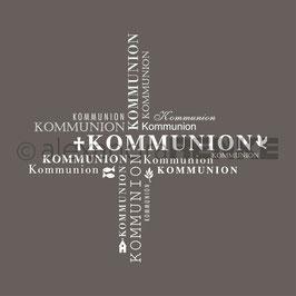 Holz-Typostempel *Kommunion*