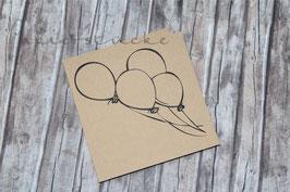 Stempel *Luftballonstrauß*