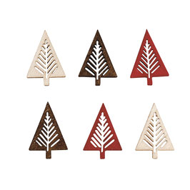 Holz Streuteile *Bäume modern*
