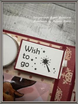 Stempelgummi * Wish to go*