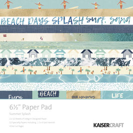 KaiserCraft Scrapbookingblock Serie *Summer Splash*