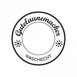 Holz-Stempel *Gutelaunemacher - waschecht*
