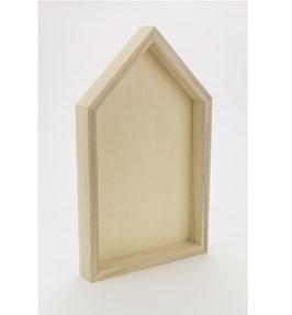 Holz-Häuschen *Rahmen*