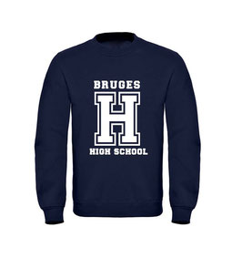 """BRUGES HIGHSCHOOL"" SWEATER"