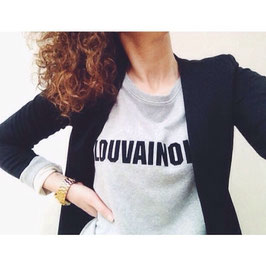 """LOUVAINOISE CITY "" SWEATER"