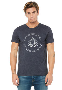 """CROSSFITOLOGY"" TSHIRT NAVY"