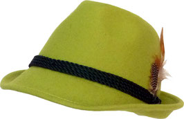 Trachtenhut apfelgrün
