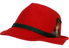 Trachtenhut Rot