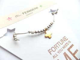 'FORTUNE'  Armband Leder