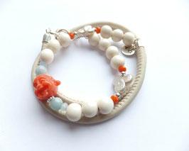 'BUDDHA CORAL' Armband