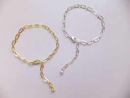 'ROMA' Armband Silber