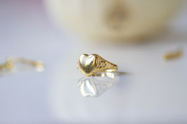 'GOLDEN HEART' Ring