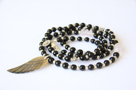 'IBIZA TRUST' Black Wing  Armband / Kette