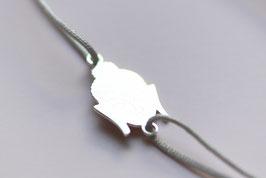 'BUDDHA' Armband Silber