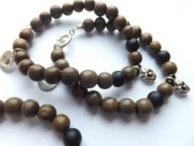 'LILY PEA BLACK' Armband