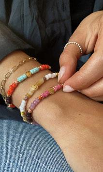 'SMILEY' Armband Gold