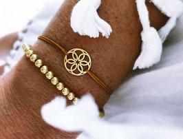 'FLOWER OF LIFE'  Mandala Armband