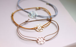 'FLOWER OF LIFE'  Mandala Armband