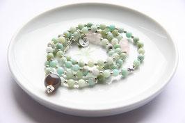 'IBIZA TRUST' Green Pearl  Armband / Kette