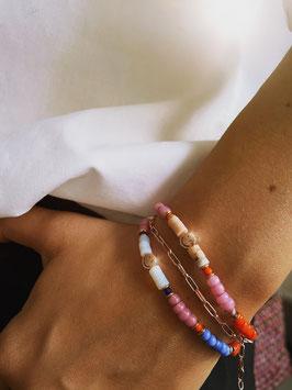 'SMILEY' Armband Roségold