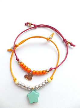 'FROM HEART to HEART' Armband